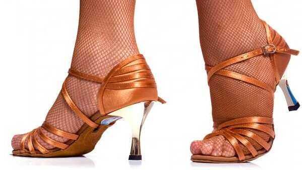 Női társastánc cipő